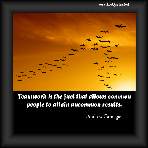 Inspirational And Motivational Quotes Images: Motivational Quotes For TeamWork