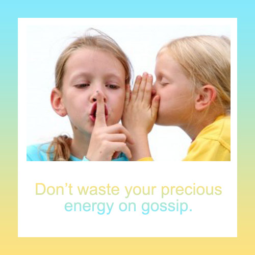 Www Quotes: How To Stop Gossip, Rumour And